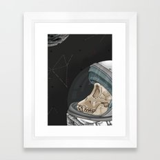 Creatures from outer space Framed Art Print