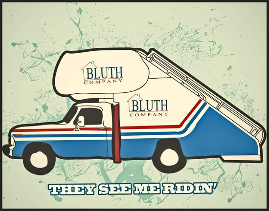 They see Me Ridin Bluth  Art Print