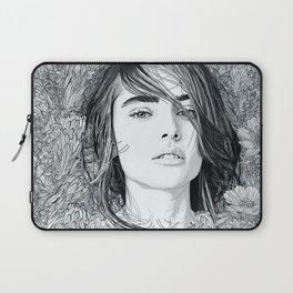 Laptop Sleeve - White Moon Garden - PedroTapa