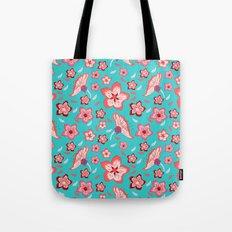 Exotic Flowermix Tote Bag