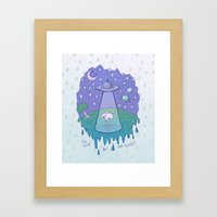 Too Cute For This Planet Framed Art Print