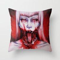 phobic Throw Pillow