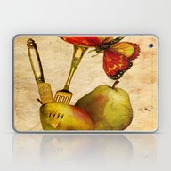 La  Collation Du Papillo… Laptop & iPad Skin
