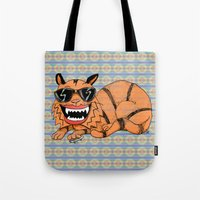 Kickflip Cat Tote Bag