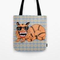 Kickflip Cat Tote Bag