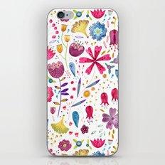 Autumn Hedgerow iPhone & iPod Skin