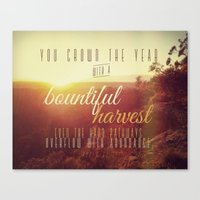 Crown The Year Canvas Print