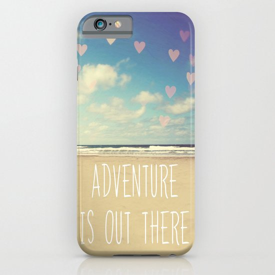 adventure is out there iPhone & iPod Case