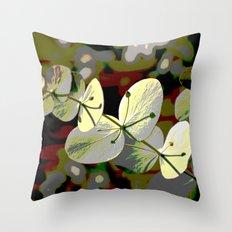 Bright Leaf Throw Pillow