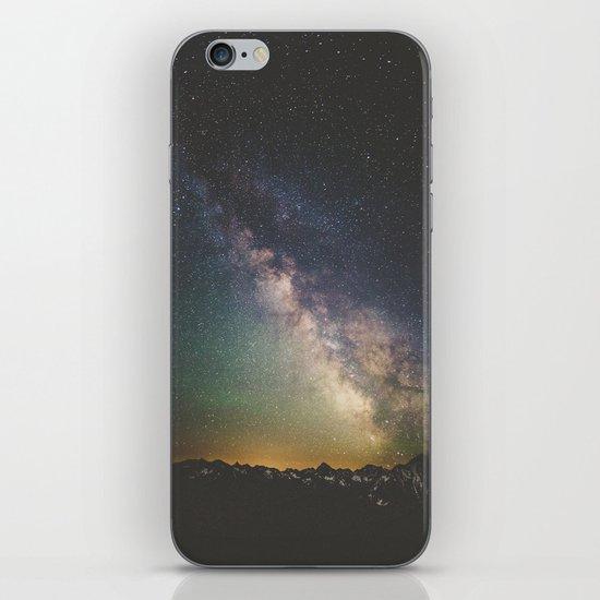Milky Way IV iPhone & iPod Skin