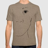 Freedom of Expression 2 of 3 Mens Fitted Tee Tri-Coffee SMALL