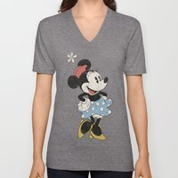 Minnie Mouse Unisex V-Neck