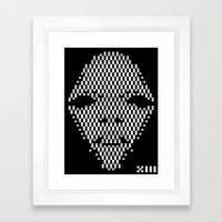 Diamond Face 1 Framed Art Print