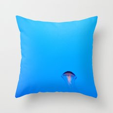 Floating. Throw Pillow