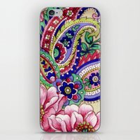 Floral Deco iPhone & iPod Skin