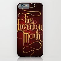 Fire Invention Month iPhone 6 Slim Case