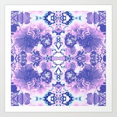 Abstract Blossom Art Print