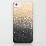 GOLD BLACK iPhone 5c Slim Case