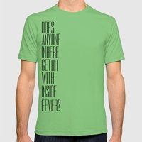 So Bad Sometimes, It's Hard To Move Around Mens Fitted Tee Grass SMALL