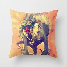 Rafiki´s Rage Throw Pillow