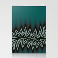 Fractal Tribal Art In Pa… Stationery Cards