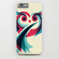 owl iPhone & iPod Cases featuring Owl by Jay Fleck
