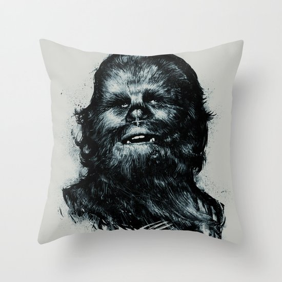CHE-wbacca Throw Pillow