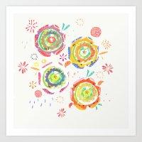 flowers_1 Art Print