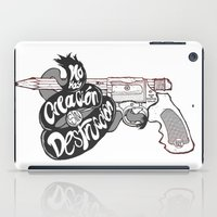 Creative weapon #2 (variant) iPad Case
