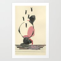 what goes in... Art Print