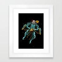 Astro Z Framed Art Print