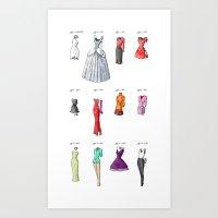 The Evolution Of Womensw… Art Print