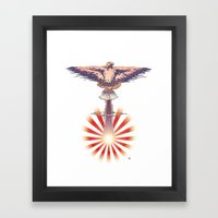 Nuclear Dawn Framed Art Print