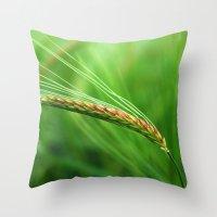 The Corn Throw Pillow