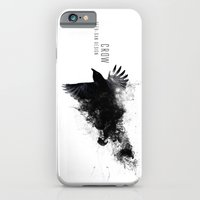 iPhone & iPod Case featuring Crow  by Seeb Bremer