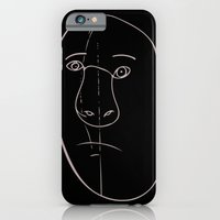 iPhone Cases featuring Face by Autumn Dawn
