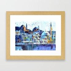Üsküdar Sunset Framed Art Print