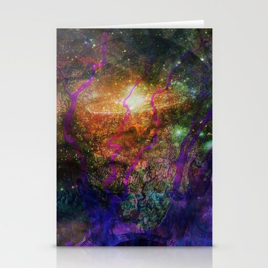 Inner Space 1 Stationery Card