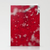 Christmas Snowflake Stationery Cards
