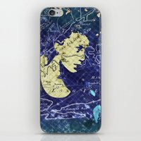 Lady of the Lake. iPhone & iPod Skin