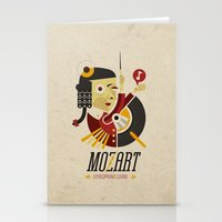 Mozart - Stereophonic Sound   Stationery Cards