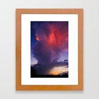 The End of the Storm Framed Art Print