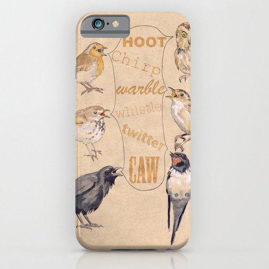 Bird Sounds iPhone & iPod Case