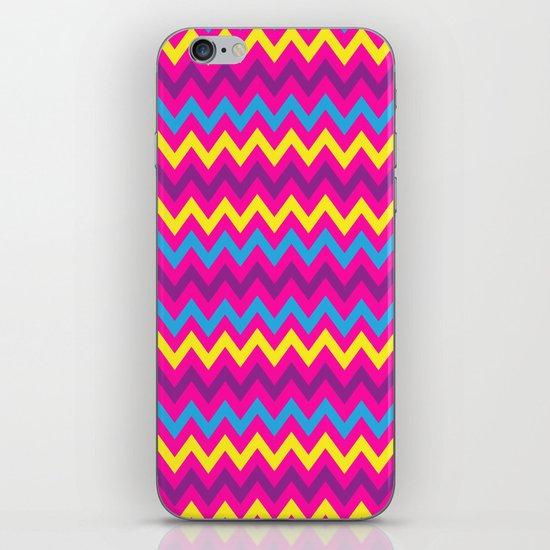 bright chevron iPhone & iPod Skin