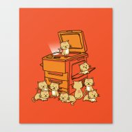 Canvas Print featuring The Original Copycat by Budi Kwan