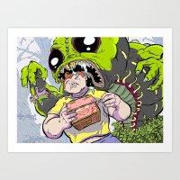 Arthur: The World's Stro… Art Print