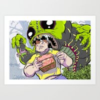 Arthur: The World's Stro… Art Print