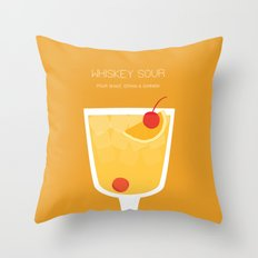 Whiskey Sour - Alcohol Throw Pillow