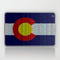 Colorado Flag/Geometric Laptop & iPad Skin