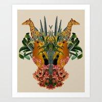 Zoo  Art Print